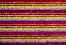 Free Colorful Towel As Background Stock Images - 21634644