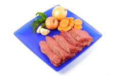 Free Raw Meat Royalty Free Stock Photography - 21636097