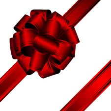 Free Red Bow Stock Images - 21636114