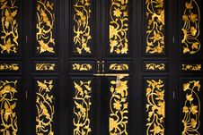 Free Chinese Door Pattern Stock Images - 21639924