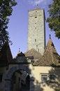 Free Rothenburg Western Town Gate Stock Image - 21641551