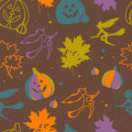 Free Halloween Seamless Pattern Royalty Free Stock Images - 21649449