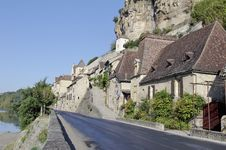 Free Beynac Village Stock Image - 21641181
