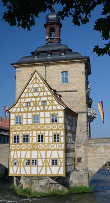 Bamberg Old Town Hall Royalty Free Stock Images