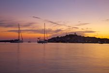 Free Sunset In Mediterranean Royalty Free Stock Photography - 21642957