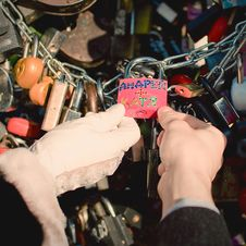 Free Love Lock Stock Photos - 21647273
