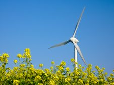 Free Wind Turbine Stock Photography - 21648242