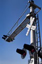 Free Overhead Railroad Crossing Stock Photography - 21656052
