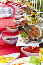 Free Celebratory Food: Stuffed Fish On Served Table Stock Photos - 21658443