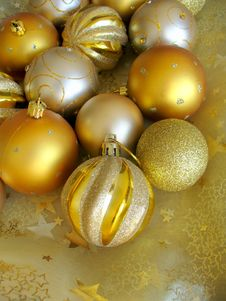 Free Christmas Balls Stock Photos - 21654223