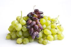 Free Green And Red Grapes Royalty Free Stock Photos - 21656088