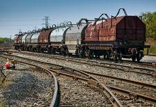 Free Steel Coil Train Stock Photos - 21656133
