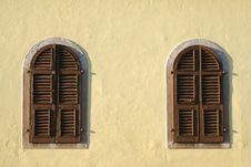 Free Wooden Windows Stock Photo - 21656160