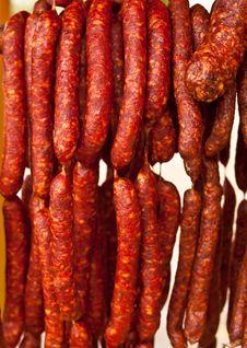 Free Homemade Sausages Stock Photos - 21656453