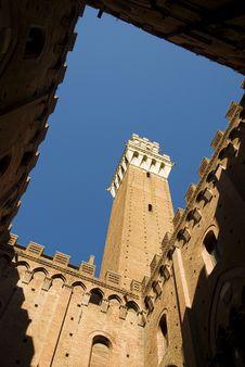 Free Torre Del Mangia Stock Image - 21658471