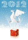 Free Christmas Background Royalty Free Stock Image - 21660616