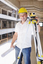 Free Architect On Construction Site Stock Image - 21663611