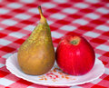 Free Apple And Pear Royalty Free Stock Image - 21668706
