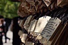 Free Praying Tablets Stock Photo - 21660080