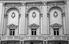 Exterior Of Old Historical Building Stock Photo