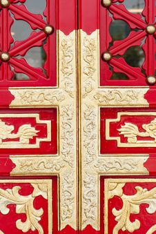 Free Red  Gate Stock Photo - 21662560