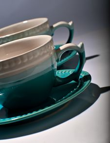 Free Tea Cups Stock Images - 21665634
