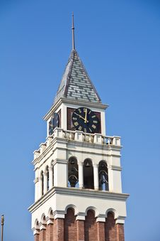 Free Clock Tower Royalty Free Stock Image - 21667276