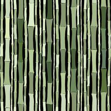 Free Bamboo Seamless Pattern Stock Image - 21668051