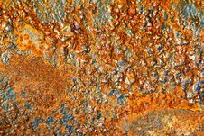 Rusty Rock Royalty Free Stock Photography