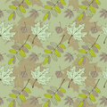 Free Leaf Pattern. Vector Illustration Eps.10. Royalty Free Stock Photo - 21674525