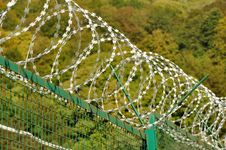 Free Barbed Wire Royalty Free Stock Photos - 21672938