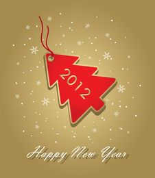 Free New Year Card Stock Photo - 21673020