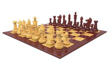 Free Wood Chess Game Royalty Free Stock Photos - 21673628