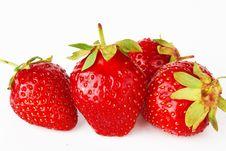 Free Fresh Strawberries, Stock Photography - 21673942
