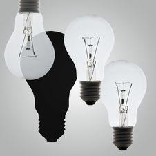 Free Light Bulb Concept Stock Photo - 21674320