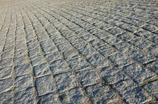 Free Cobbled Square Texture Stock Photo - 21674520
