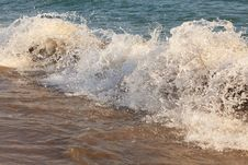 Sea Surf. Stock Photography