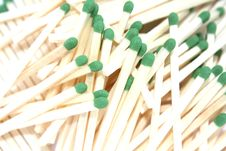Free Wooden Match Sticks Royalty Free Stock Images - 21677769