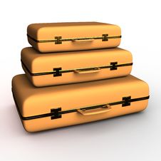 Free Suitcase Royalty Free Stock Image - 21679746