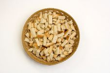 Free A Dish Of Crackers Royalty Free Stock Photography - 21681317