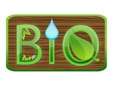 Free Glass Nature Bio Symbol Green Color Royalty Free Stock Photography - 21681667
