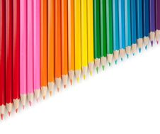 Free Assortment Of Color Pencils Stock Photo - 21681750