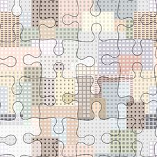 Free City Puzzle Royalty Free Stock Images - 21682179