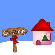 Free Christmas Illustration Royalty Free Stock Image - 21684586