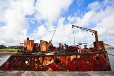 Free Ship Wreck Royalty Free Stock Image - 21686056