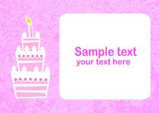 Free Background With Cake Stock Photography - 21686172