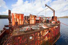 Free Ship Wreck Stock Image - 21686261