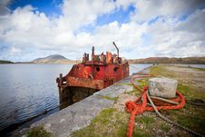 Free Ship Wreck Royalty Free Stock Images - 21686349