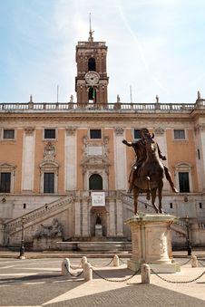 Free The Campidoglio Square In Rome, Italy Stock Image - 21689641