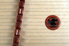 Hammer Dulcimer Royalty Free Stock Photography